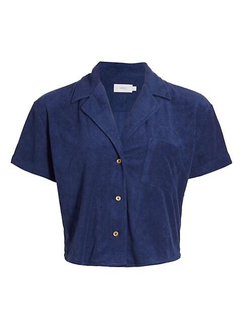 Celeste Terrycloth Shirt