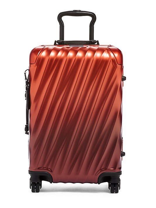 Tumi 19 Degree Aluminum International Carry-On Spinner Luggage (Russet Ombre)