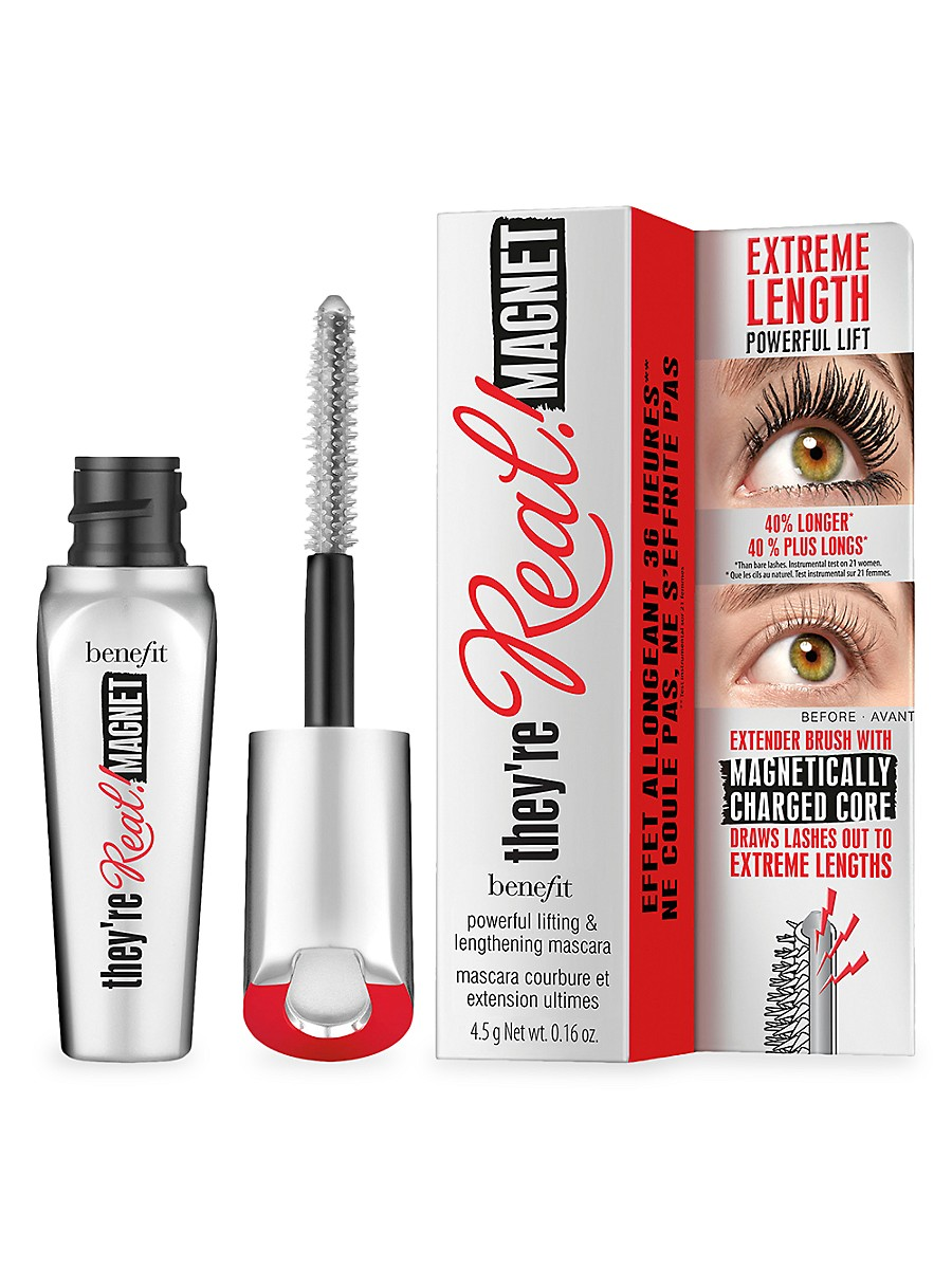 BENEFIT COSMETICS Mascaras THEY'RE REAL! MAGNET EXTREME LENGTHENING MASCARA