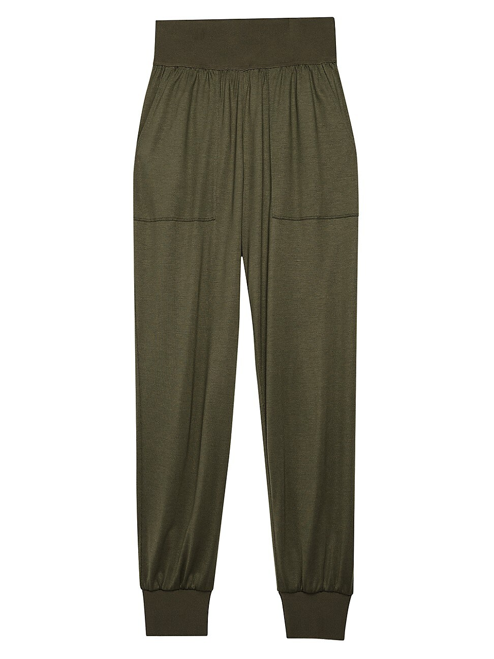 Theory Pants WOMEN'S RIBBED KNIT JOGGERS