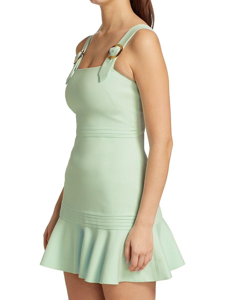 JONATHAN SIMKHAI Mini dresses WOMEN'S CLARA CREPE MINI DRESS