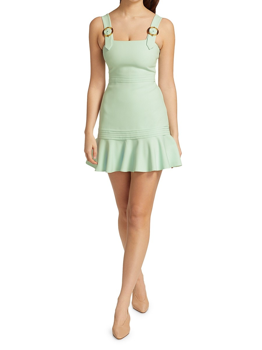 JONATHAN SIMKHAI Mini dresses WOMEN'S CLARA CREPE MINI DRESS