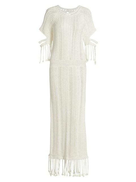 Emeri Chunky Fringe Dress