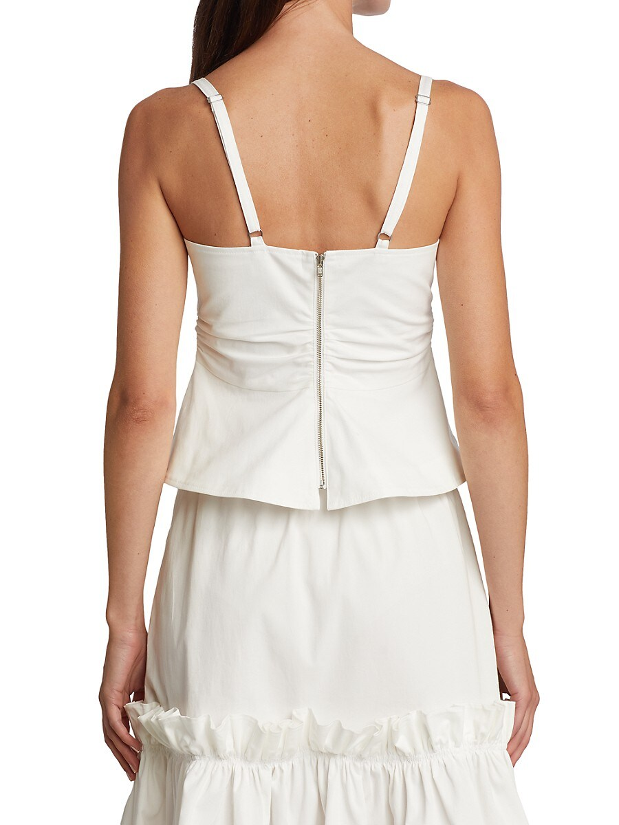 A.L.C Blouses WOMEN'S LAURYN RUCHED CAMISOLE TOP