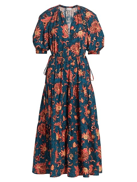 Mischa Floral Midi Dress