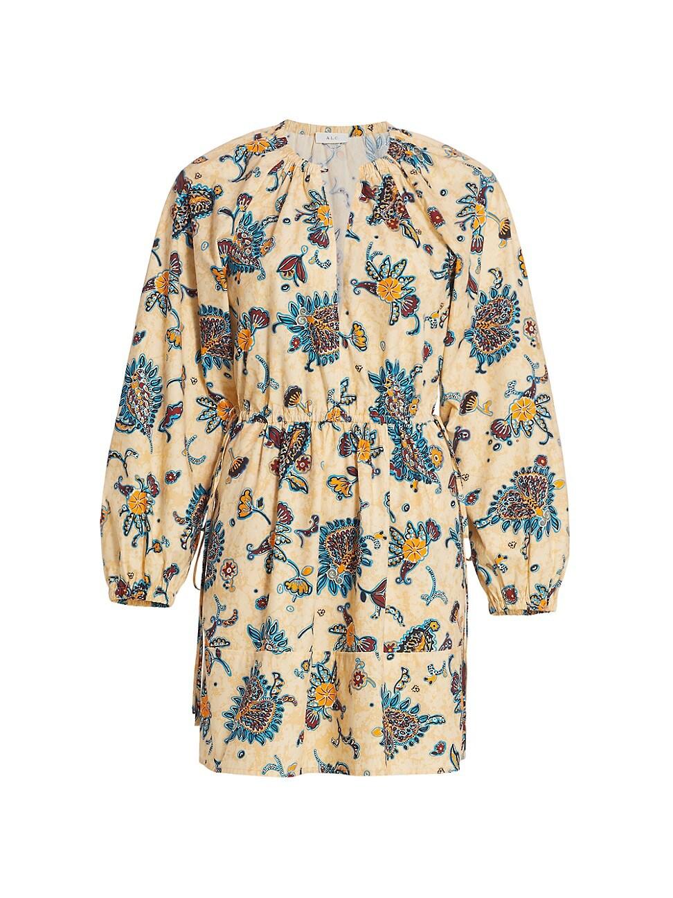 A.l.c WOMEN'S MYRA PAISLEY SHIFT DRESS