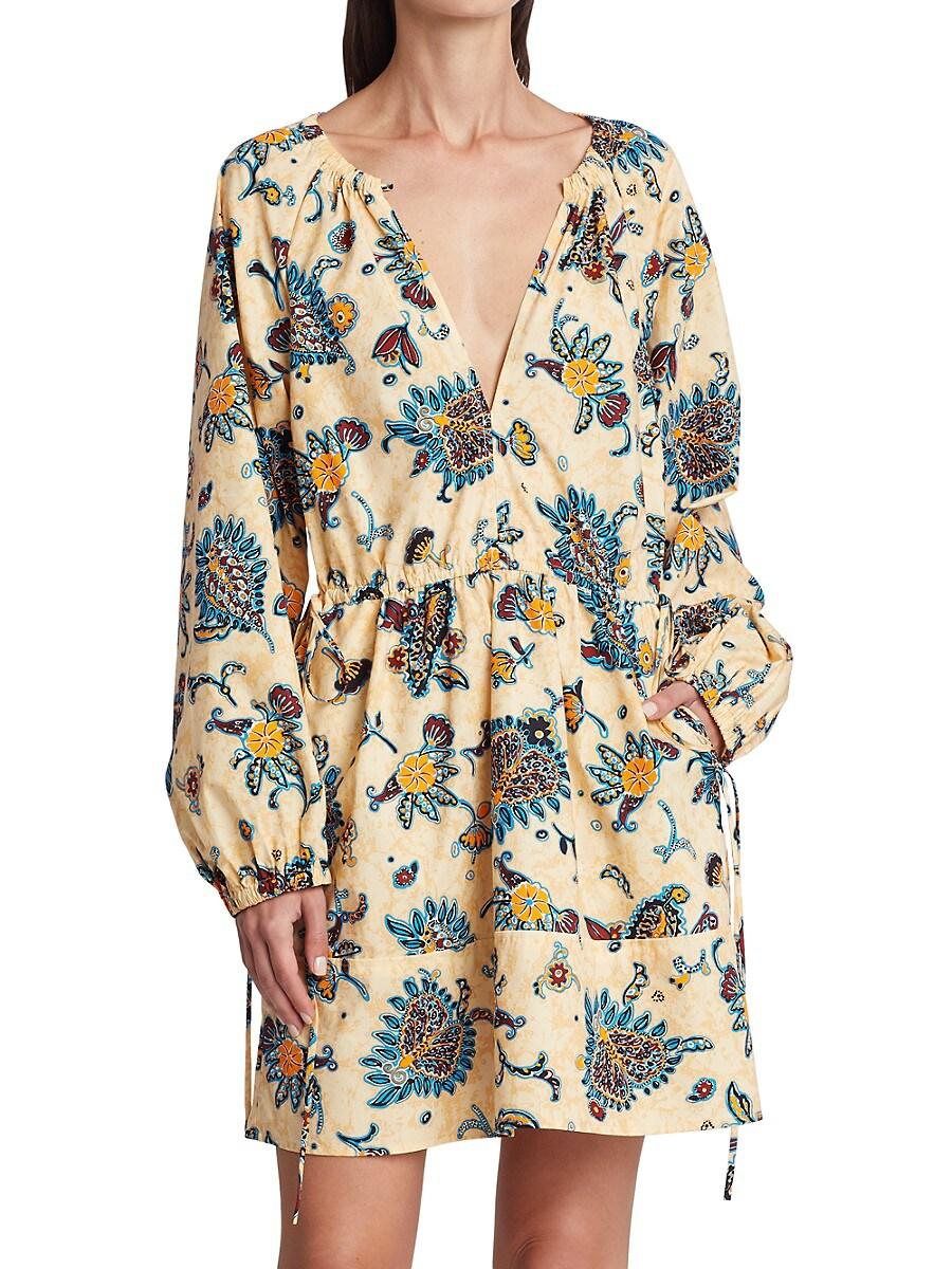 A.L.C Cottons WOMEN'S MYRA PAISLEY SHIFT DRESS