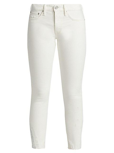 Burnside Mid-Rise Skinny Jeans