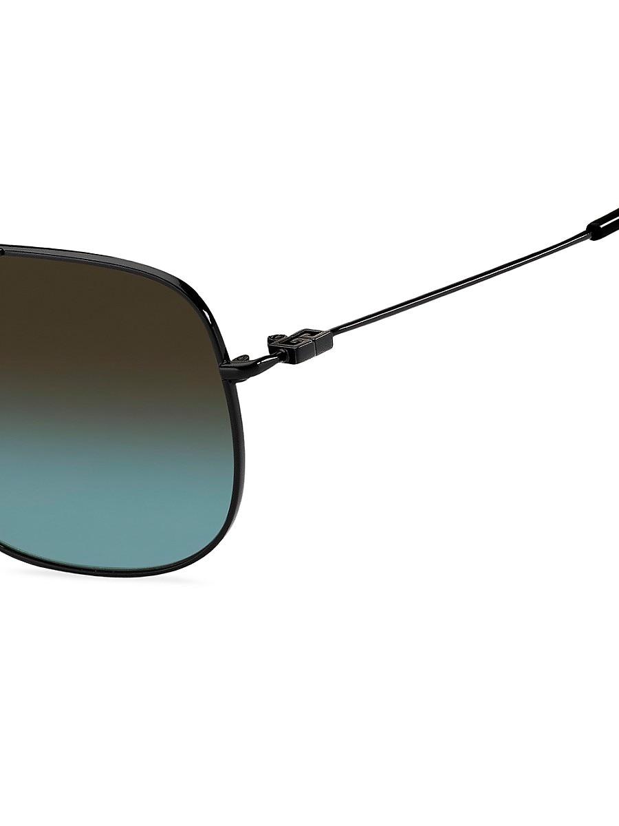 GIVENCHY Sunglasses MEN'S 59MM NAVIGATOR SUNGLASSES