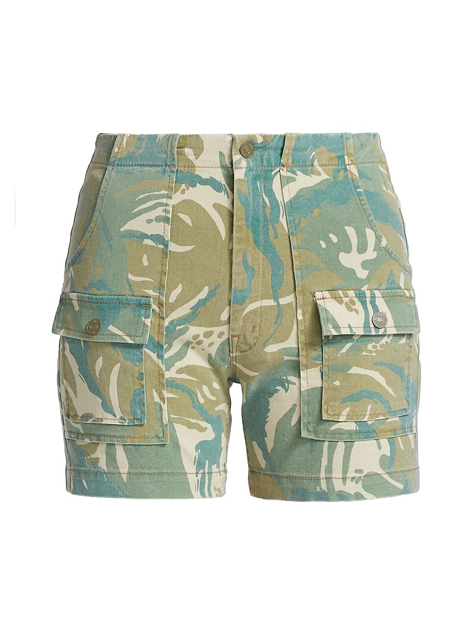 Mother WOMEN'S THE RAMBLER PATCH POCKET SHORTS