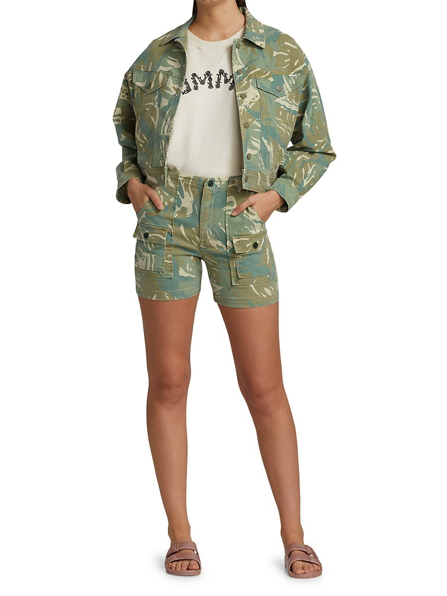 MOTHER Denims WOMEN'S THE FLY AWAY JACKET