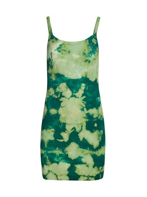 Verona Tie-Dye Tank Dress