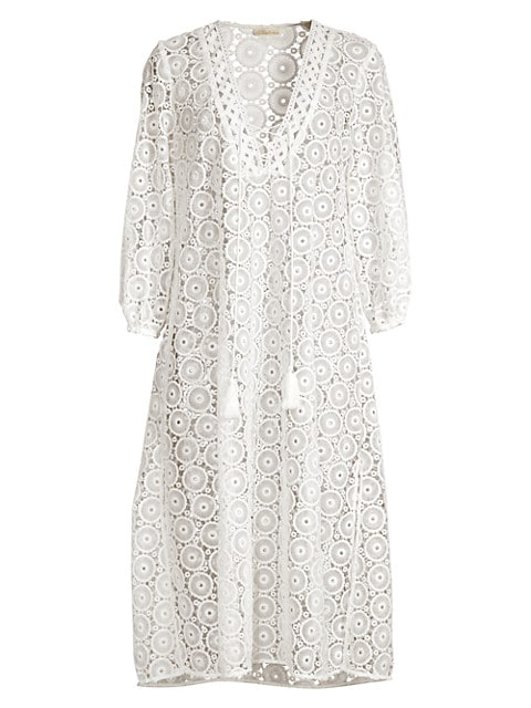 Lace Eyelet Breeze Caftan