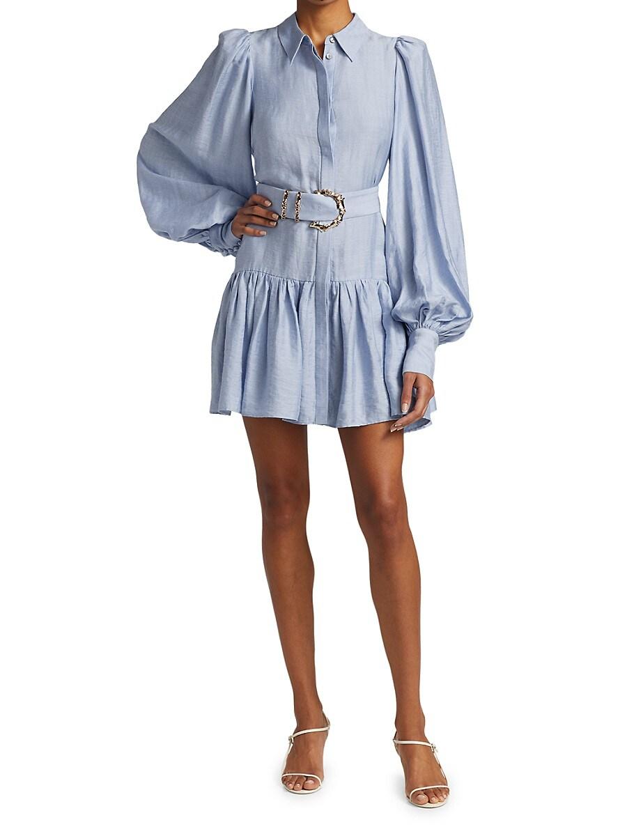 ACLER Shirts WOMEN'S SHERWOOD BELTED SHIRTDRESS
