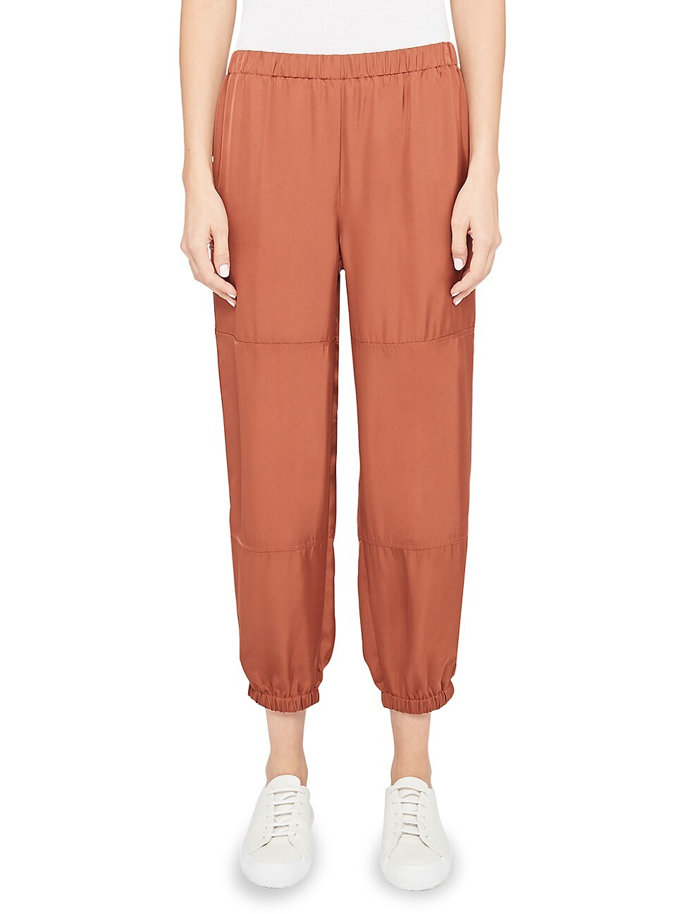 Theory Track pants WOMEN'S SLIM-FIT TWILL CARGO PANTS