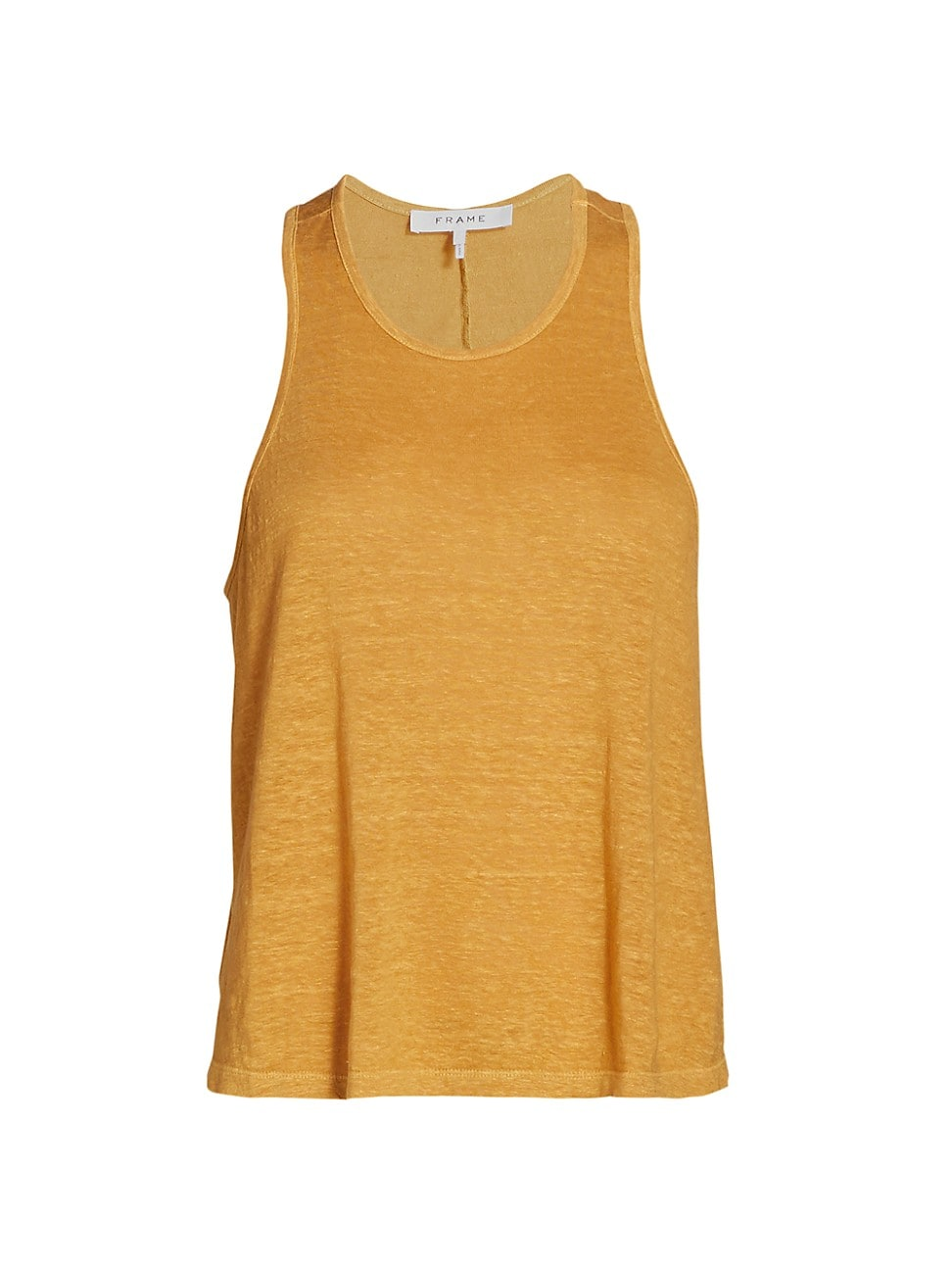 Frame WOMEN'S SWINGY STRIPED LINEN TANK TOP