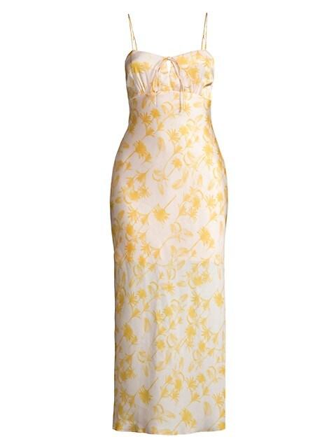 Erica Floral Midi Dress