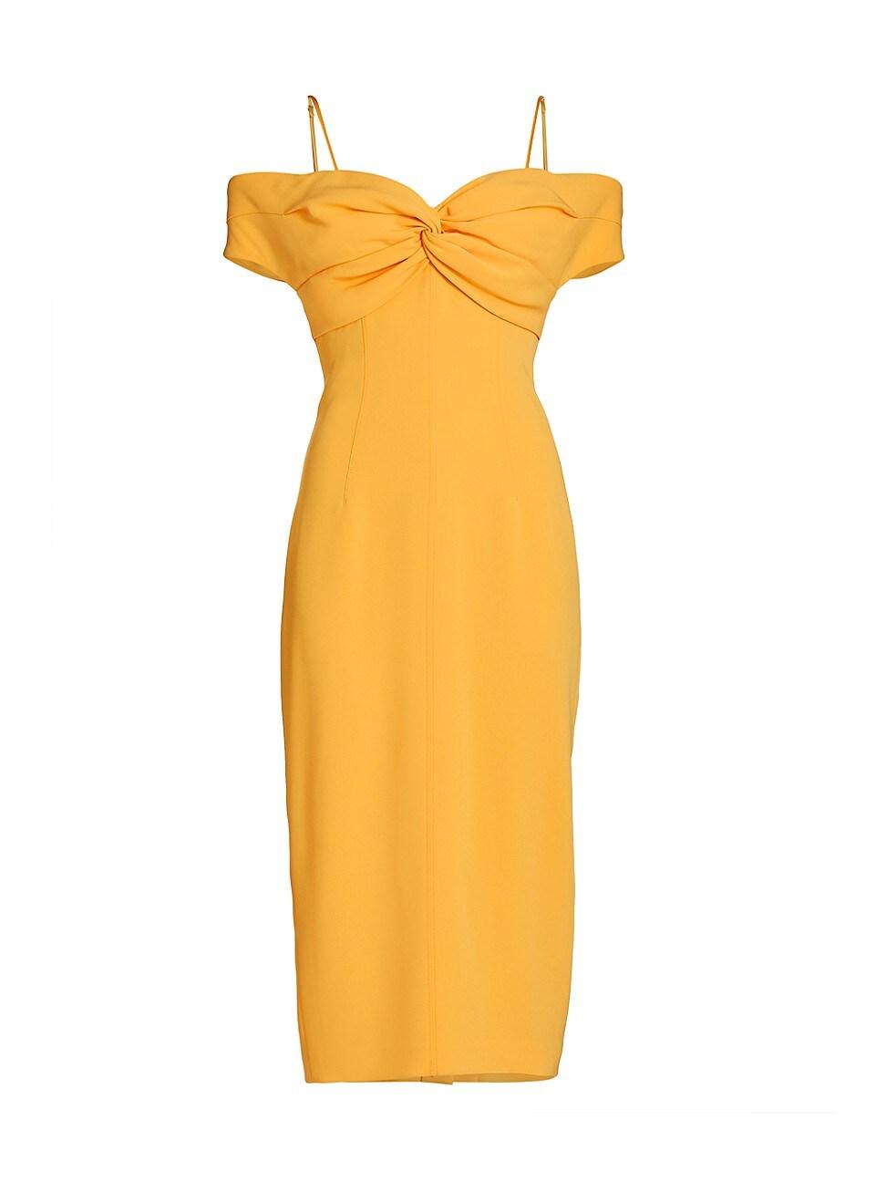 Cinq À Sept WOMEN'S JODY COLD-SHOULDER COCKTAIL DRESS