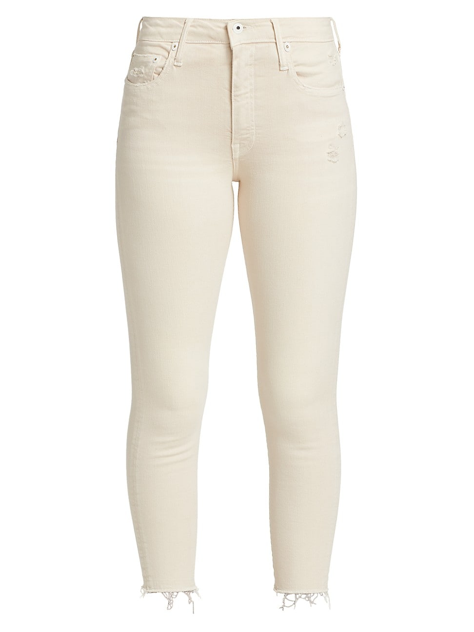 Jonathan Simkhai Standard WOMEN'S COSTA MID-RISE CROPPED SKINNY JEANS