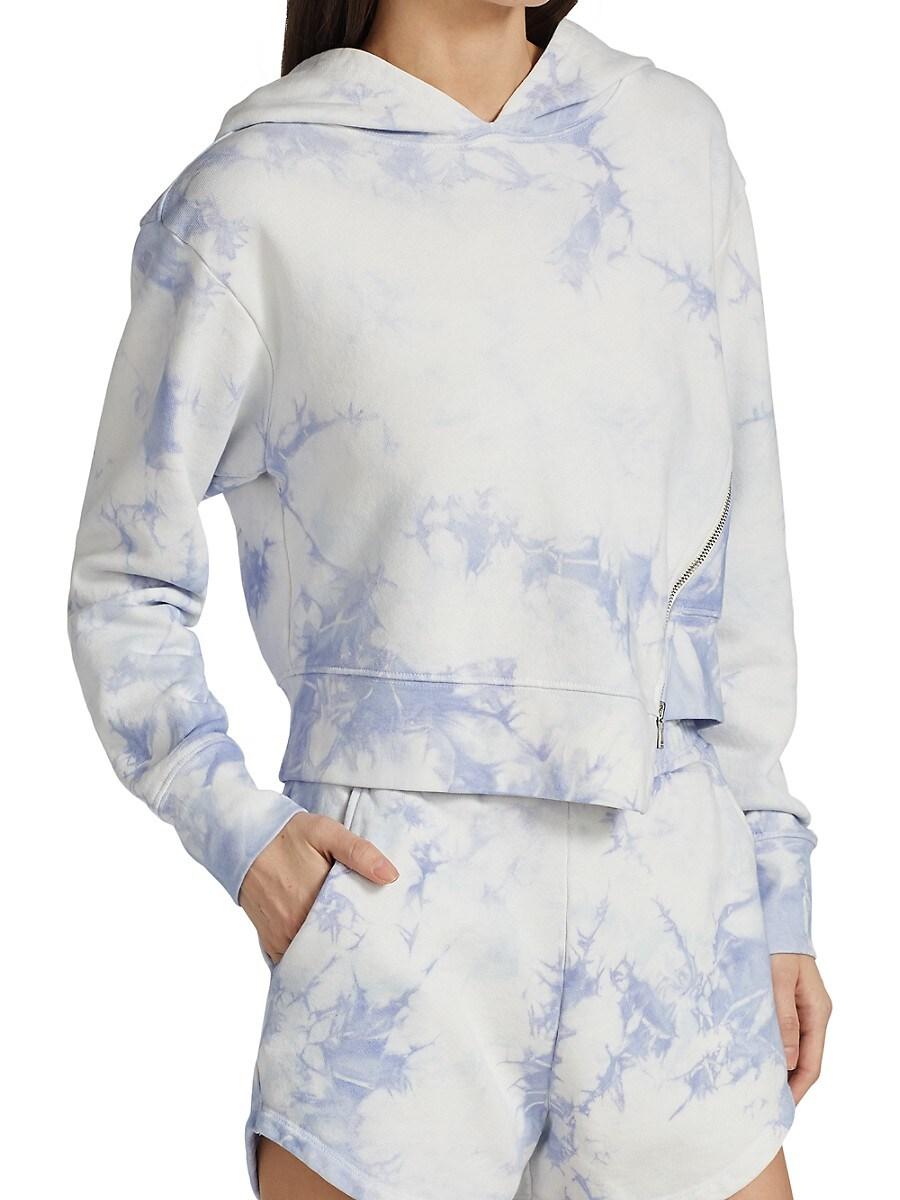 JONATHAN SIMKHAI STANDARD Sweatshirts WOMEN'S ARCHER TIE-DYE SWEATSHIRT