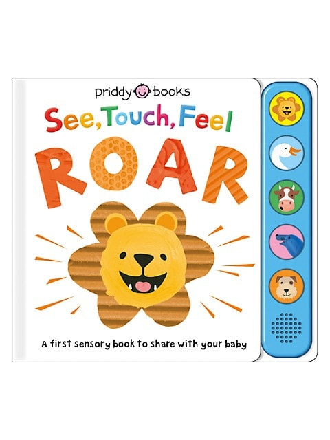 See, Touch, Feel: Roar Sensory Book