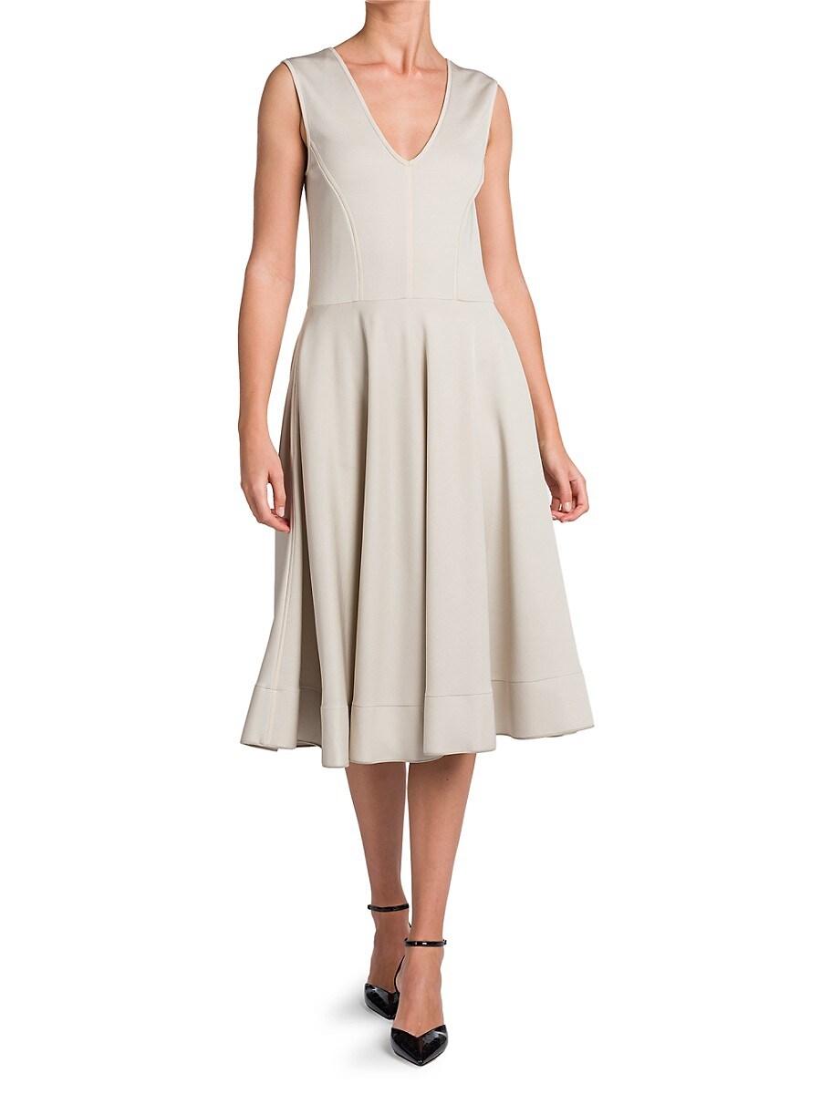 GIORGIO ARMANI Mini dresses WOMEN'S SLEEVELESS OTTOMAN JERSEY DRESS