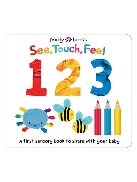 See, Touch, Feel 123 Board Book