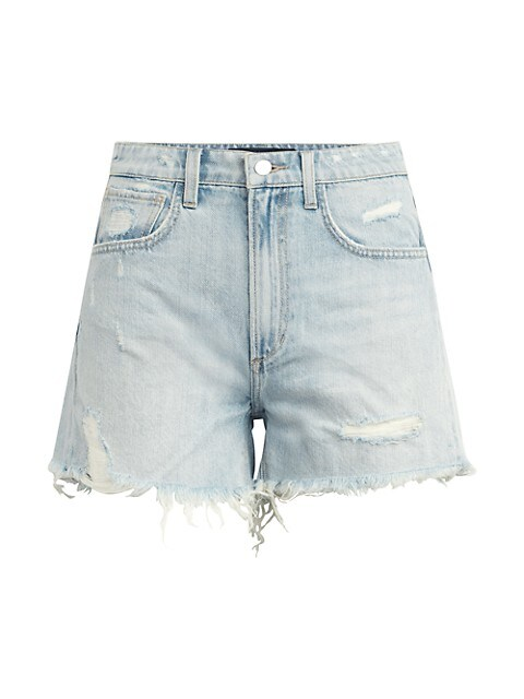 The Sadie Distressed Denim Shorts