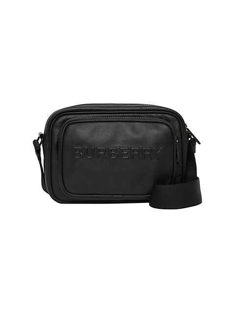 Paddy Debossed Leather Logo Crossbody Bag