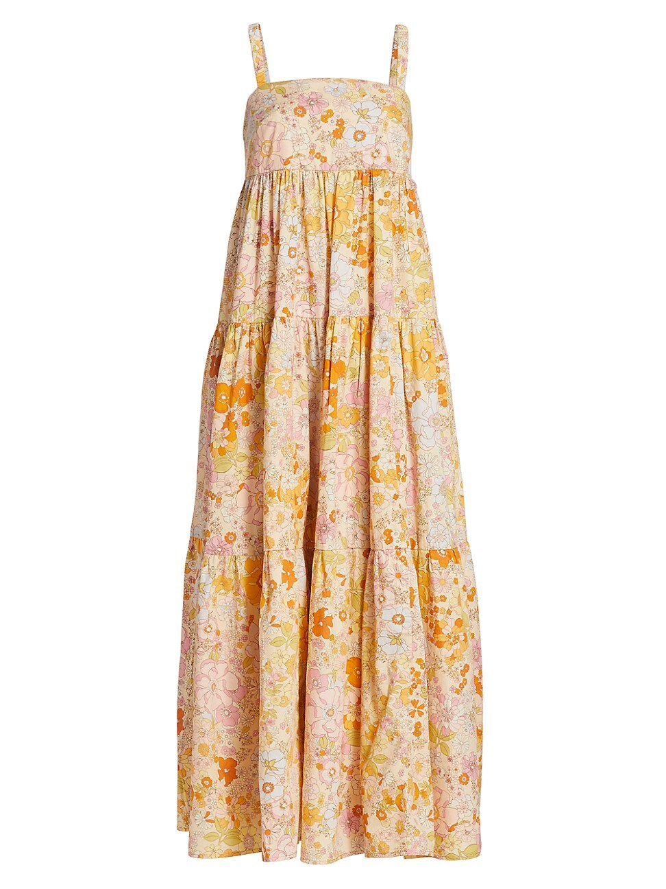 Free People WOMEN'S PARK SLOPE MAXI DRESS