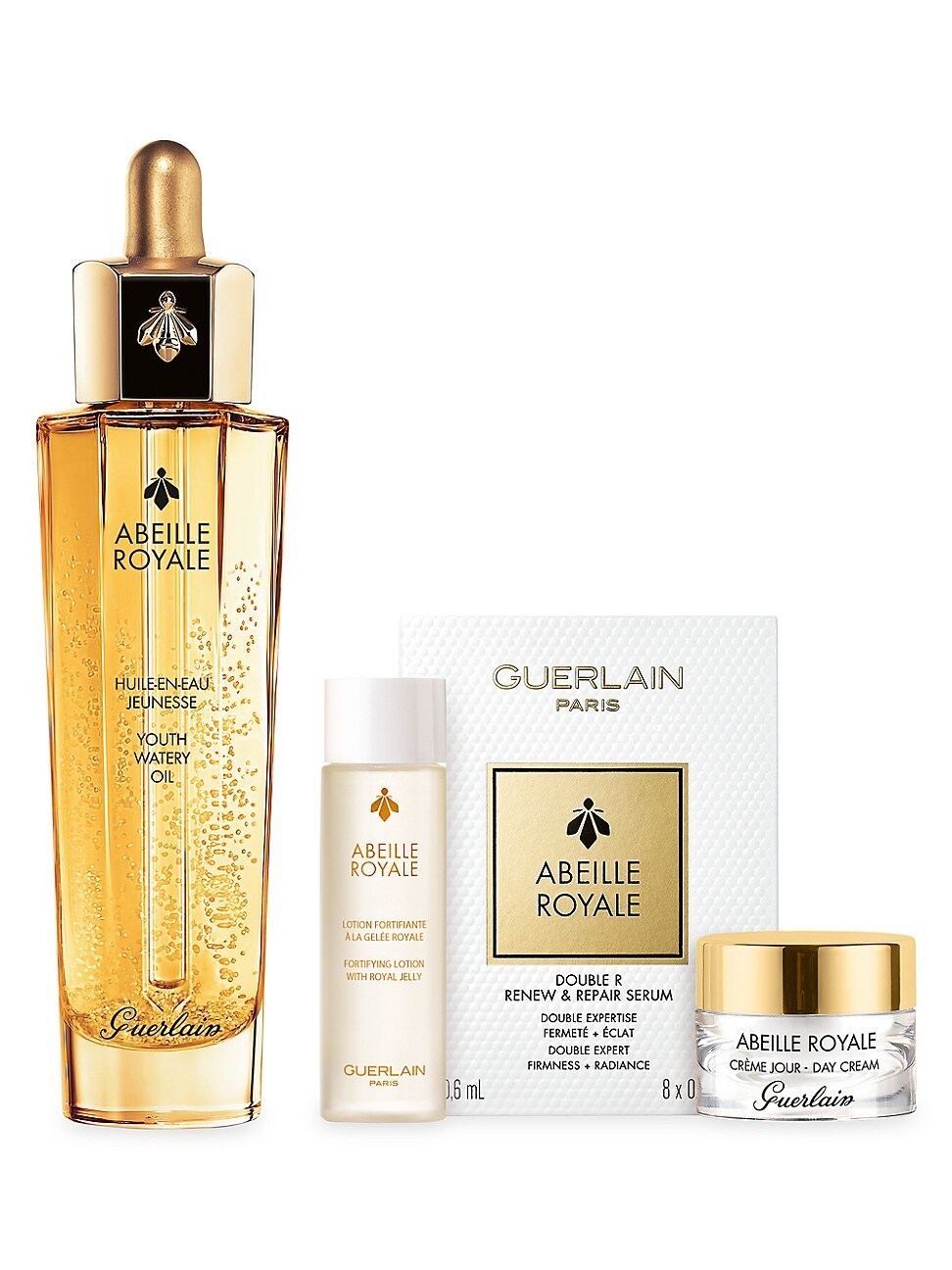 Guerlain ABEILLE ROYALE ANTI-AGING YOUTH WATERY OIL 4-PIECE SET