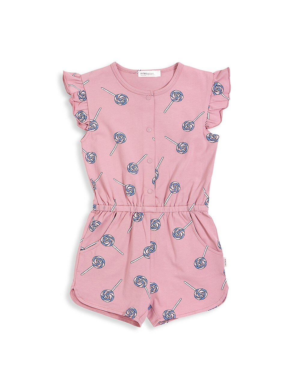 Miles Baby Climbing clotheses BABY GIRL'S CANDY SKY LOLLIPOP-PRINT ROMPER