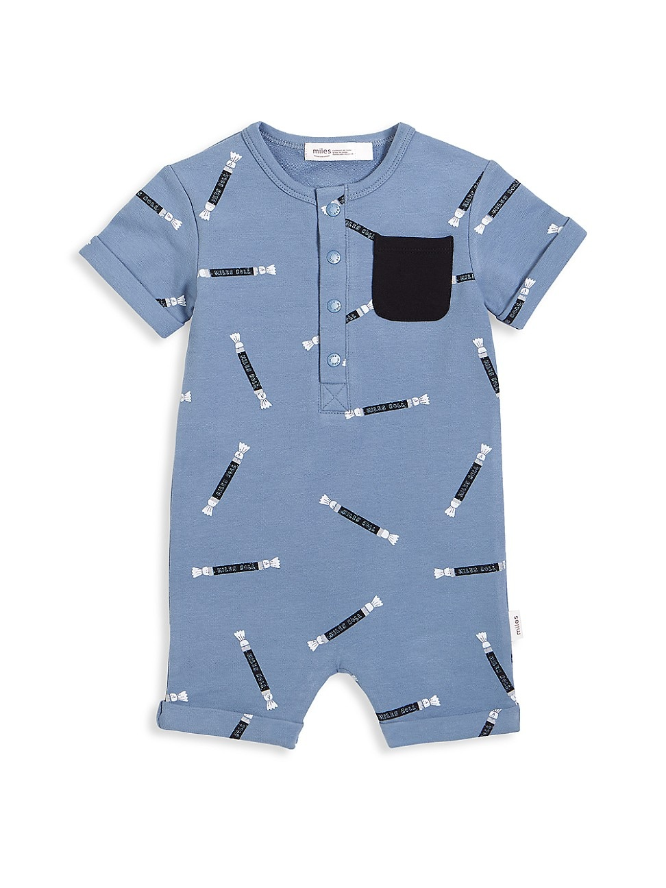 Miles Baby Climbing clotheses BABY BOY'S CANDY SKY ROLLS-PRINT ROMPER