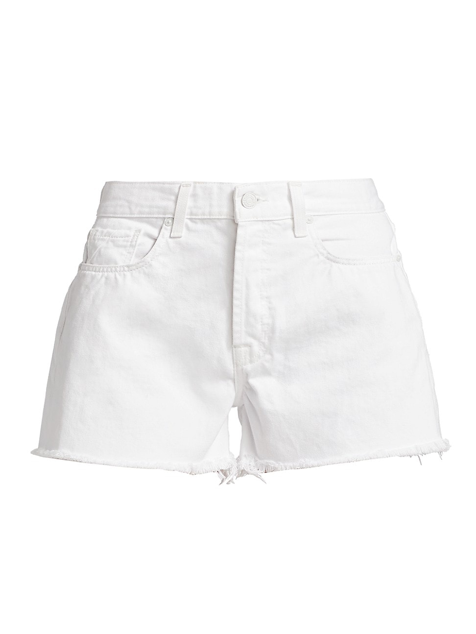 7 For All Mankind Shorts WOMEN'S MONROE CUT-OFF DENIM SHORTS