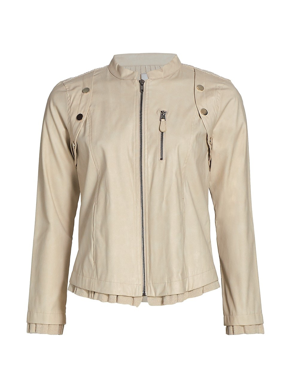 Nic + Zoe WOMEN'S FEMME FAUX LEATHER JACKET