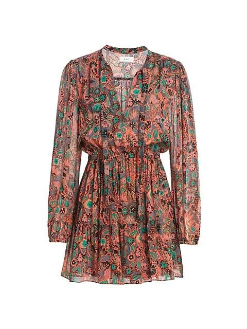 Jolene Floral Mini Dress