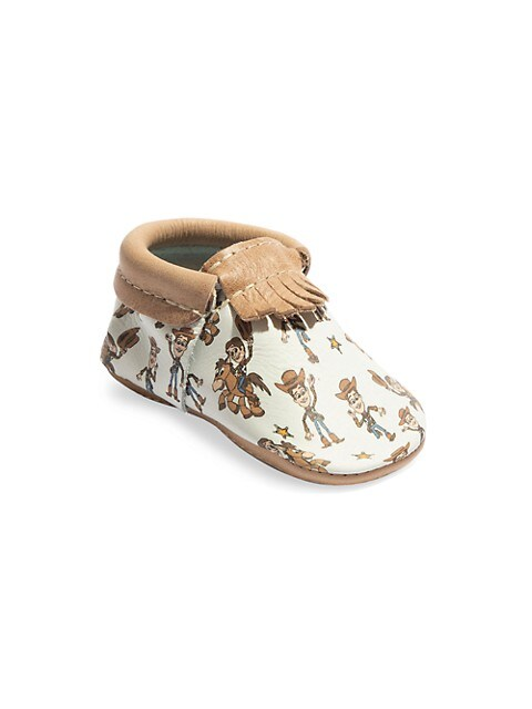 Baby Boy's Woody City Leather Moccasins