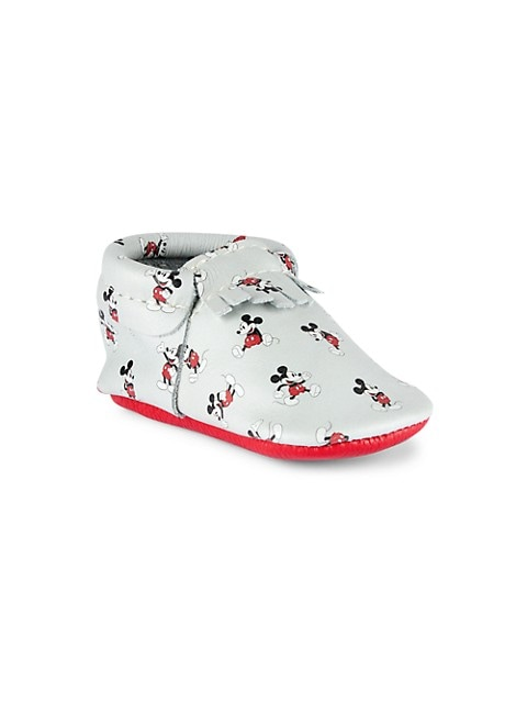 Baby Boy's All About Mickey City Moccasins