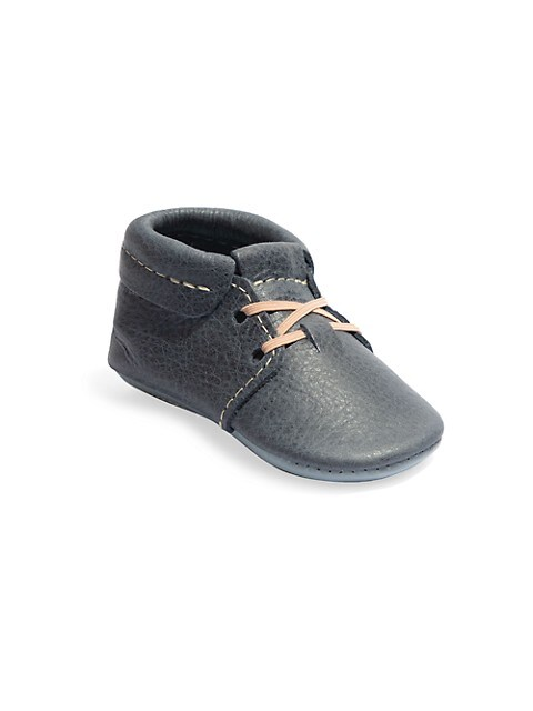Baby Boy's Coastal Leather Oxford