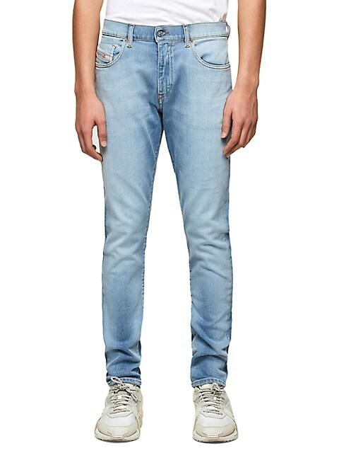 D-Strukt Mid-Rise Slim-Fit Jeans