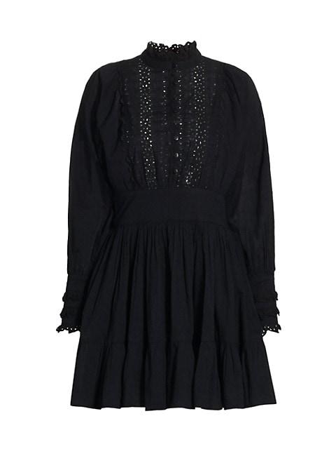 Memory Lane Cotton Slub Mini Dress