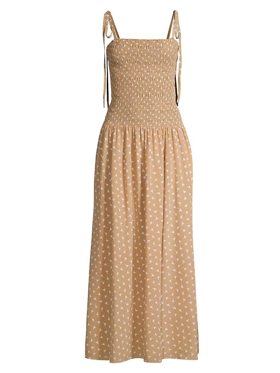 Rebecca Taylor Silks WOMEN'S RUCHED EMMY SILK DRESS