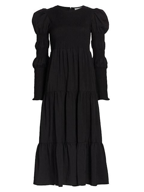 MazziGZ Long-Sleeve Maxi Dress