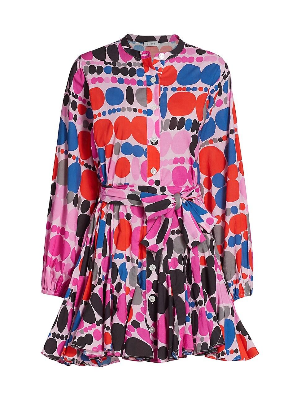 Rhode WOMEN'S EMMA GEOMETRIC PRINT DRESS