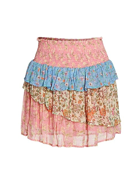 Printed Paxton Mini Skirt