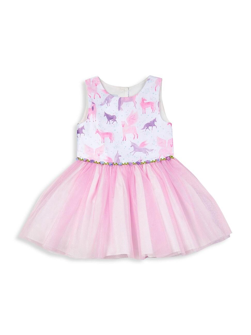Pippa & Julie Dresses LITTLE GIRL'S AND GIRL'S UNICORN TUTU DRESS