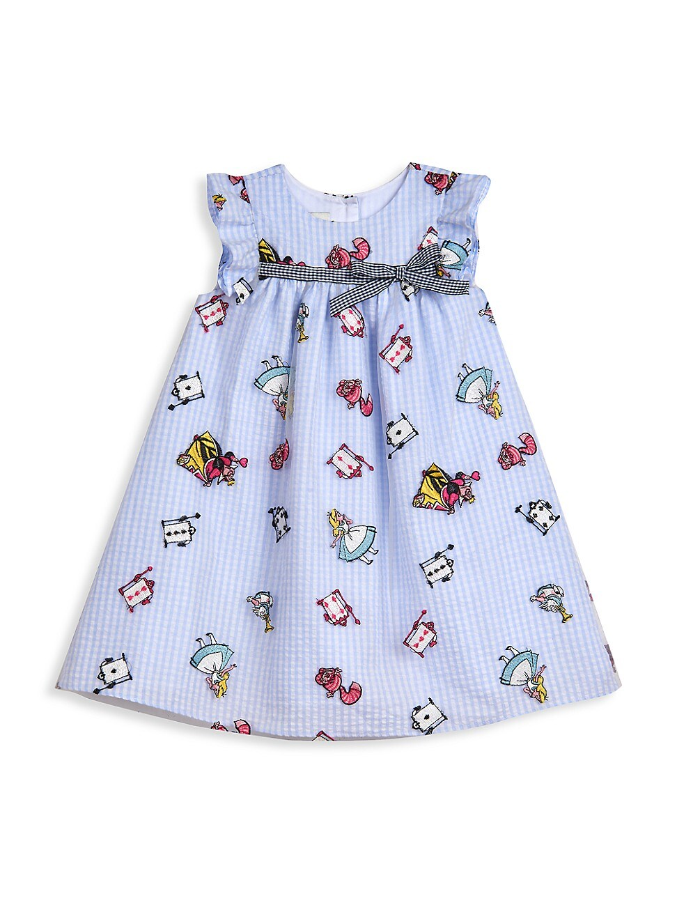 Pippa & Julie Dresses LITTLE GIRL'S DISNEY X PIPPA AND JULIE ALICE EMBROIDERED FLOAT DRESS
