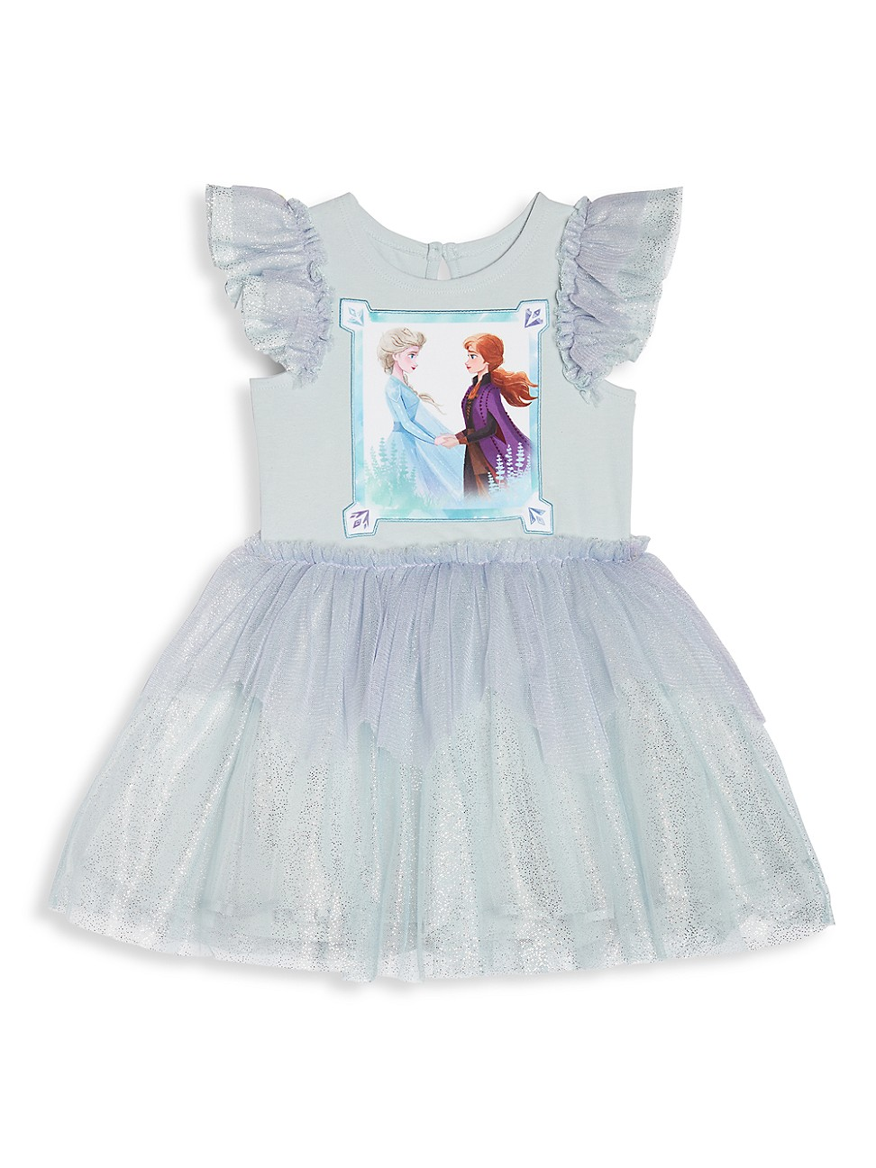 Pippa & Julie Dresses LITTLE GIRL'S DISNEY X PIPPA AND JULIE ANNA & ELSA SPARKLE TUTU DRESS