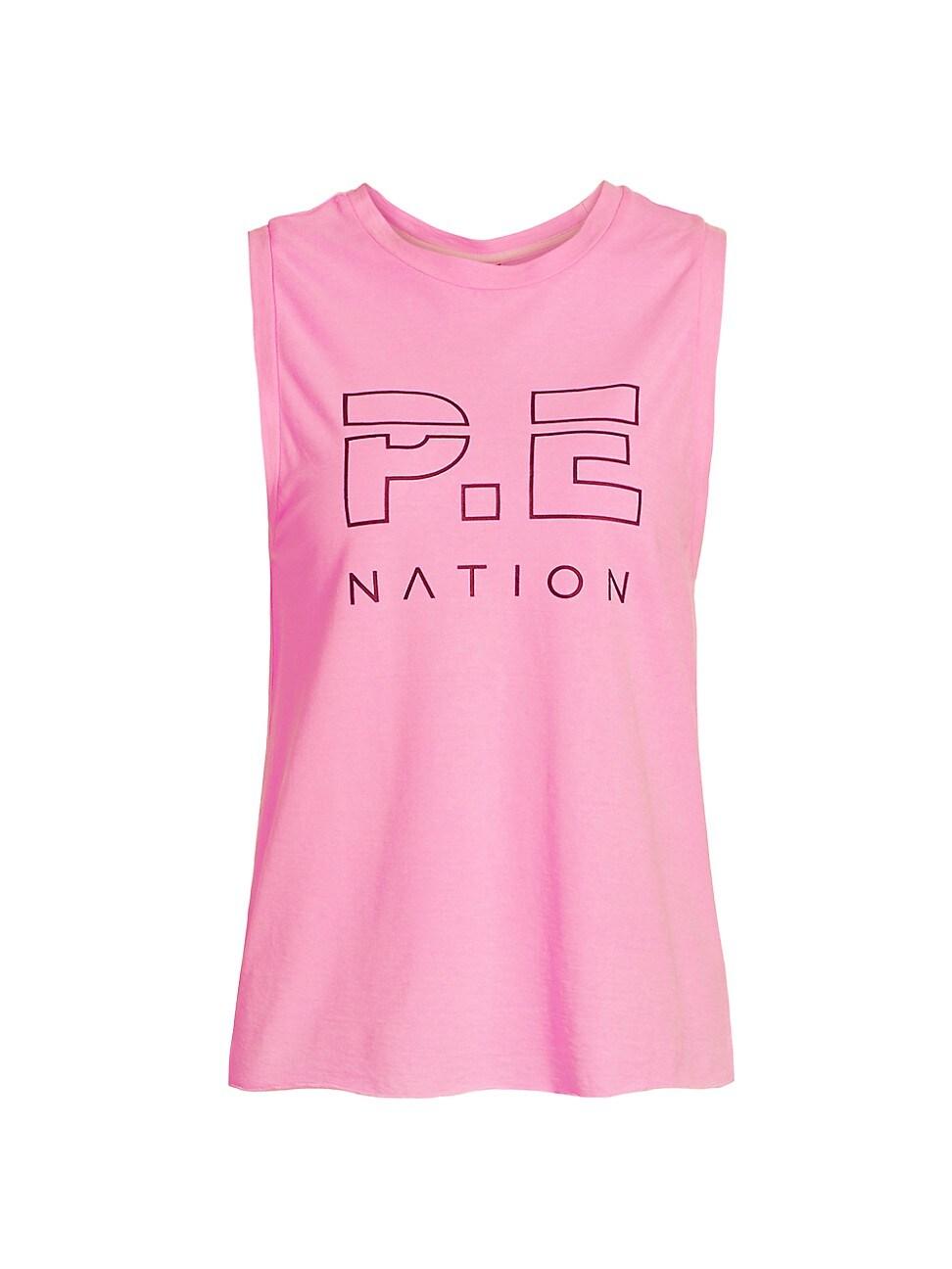 P.e Nation WOMEN'S HIGH TWIST SHUFFLE TANK TOP
