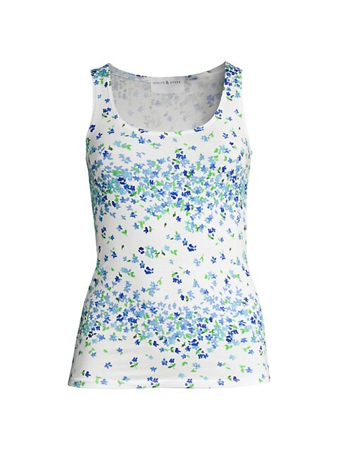 Periwinkle Floral Camisole